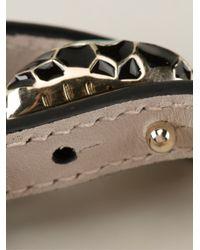 BVLGARI | Black Serpent Bracelet | Lyst