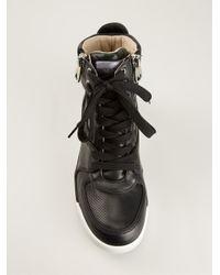 Dolce & Gabbana - Black Hi-top Sneakers - Lyst
