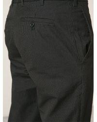 Ann Demeulemeester - Black 'aiden' Trousers for Men - Lyst
