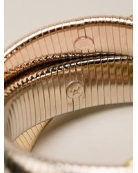 Janis Savitt - Metallic Triple 'cobra' Bracelet - Lyst