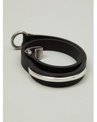 Werkstatt:münchen - Black 'm261' Bracelet - Lyst