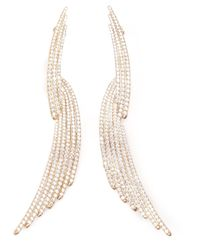 Joanna Laura Constantine | Metallic Long Earrings | Lyst