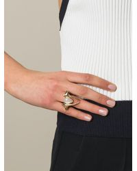 Shaun Leane | Metallic Moonstone Branch Ring | Lyst