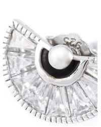 V Jewellery - Metallic 'simplicity Taper' Earrings - Lyst