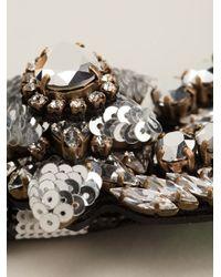 Shourouk - Black 'aigrette' Necklace - Lyst