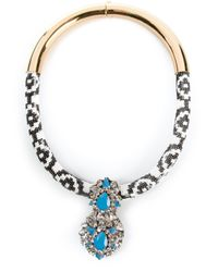 Shourouk | Blue 'zulu' Necklace | Lyst