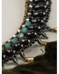 Isabel Marant - Black Feather Necklace - Lyst