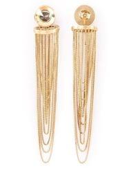 Antonio Bernardo - Metallic 18kt Gold 'gaudi' Earrings - Lyst