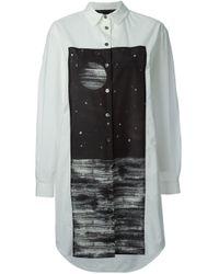 Marc By Marc Jacobs | White Galaxy Print Shirt Dress | Lyst