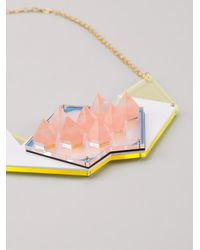 Sarah Angold Studio - Metallic 'dalis' Necklace - Lyst