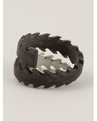 Henson | Gray 'barb' Ring | Lyst