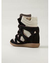 Isabel Marant - Black Étoile 'wila' Sneakers - Lyst