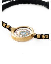 Ileana Makri | Black Happy Eye Bracelet | Lyst