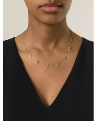Charlet Par Aime | Metallic Mini 'iris' Necklace | Lyst