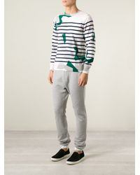 Sacai | Gray Tapered Track Pant for Men | Lyst