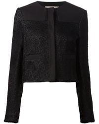 Jason Wu   Black Cropped Lace Jacket   Lyst