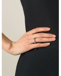 Aurelie Bidermann - Metallic 'palazzo' Ring - Lyst