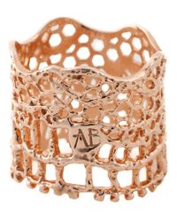 Aurelie Bidermann | Pink 'vintage Lace' Ring | Lyst
