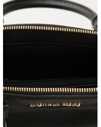 Michael Kors - Black Michael Riley Small Satchel - Lyst
