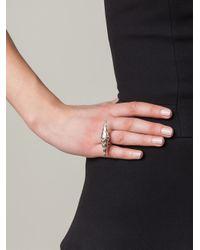 Zoe & Morgan | Metallic 'lola' Ring | Lyst