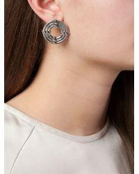 Lara Bohinc - Metallic 'apollo' Earrings - Lyst