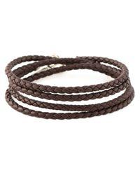 Shaun Leane | Brown 'signature Tusk' Wrap Bracelet | Lyst