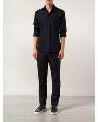 Maison Margiela - Black Straight Cargo Trousers for Men - Lyst