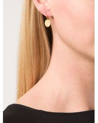Marie-hélène De Taillac | Metallic Fish Engraved Earrings | Lyst