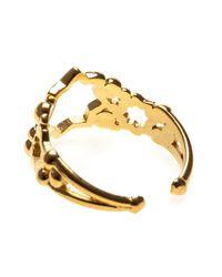 Leivan Kash | Metallic Cut Out Star Open Ring | Lyst