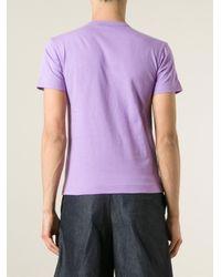 Play Comme des Garçons - Black 'play Colour Series' T-shirt for Men - Lyst