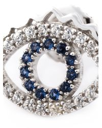 KENZO | Metallic 'eye' Earrings | Lyst