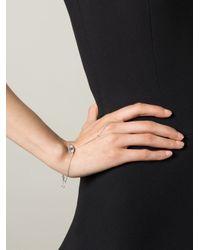 Delfina Delettrez - Metallic 'watch My Hand' Diamond And Sapphire Bracelet - Lyst