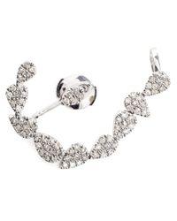 Yvonne Léon - White Yvonne Léon Diamond Chain Ear Cuff - Lyst