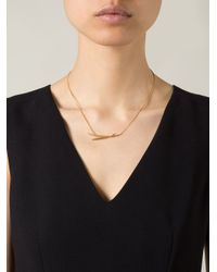 Wouters & Hendrix - Metallic 'bamboo' Necklace - Lyst