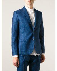 Soulland - Blue - 'kreuzberg' Flecked Blazer - Men - Polyamide/cashmere/virgin Wool/cellulose - L for Men - Lyst