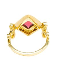 Sabine G - Metallic 18k Yellow Gold Domi Rosa Ring - Lyst