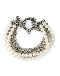 Stephen Webster | Metallic Pearl Bracelet | Lyst