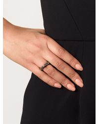 Rosa Maria | Gray 'kirsten' Diamond Ring | Lyst