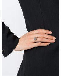 Rosa Maria - Black 'michal' Ring - Lyst