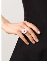 Marie-hélène De Taillac | Metallic Floral Ring | Lyst