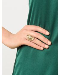 Venyx - Metallic 'madagascar' Ring - Lyst