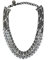 Lanvin - Black 'kristin' Necklace - Lyst