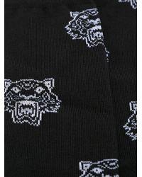 KENZO - Black 'tiger' Socks for Men - Lyst