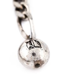 Lanvin - Gray Pearl Sautoir Necklace - Lyst