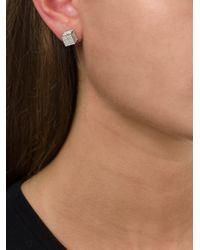 Vita Fede   Metallic 'double Cubo' Earrings   Lyst