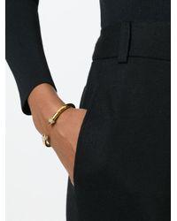 Vita Fede - Metallic Mini Titan Gold-plated Twin Spike Bracelet - Lyst