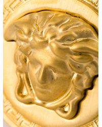 Versace - Metallic Medusa Sovereign Ring - Lyst