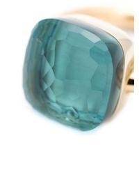 Pomellato   Green Blue Topaz Ring   Lyst