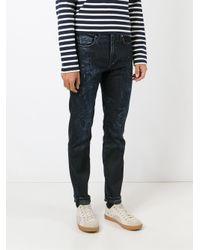 Levi's - Blue Acid Washed Jeans for Men - Lyst