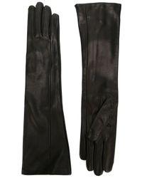 Maison Margiela - Black Classic Long Gloves - Lyst